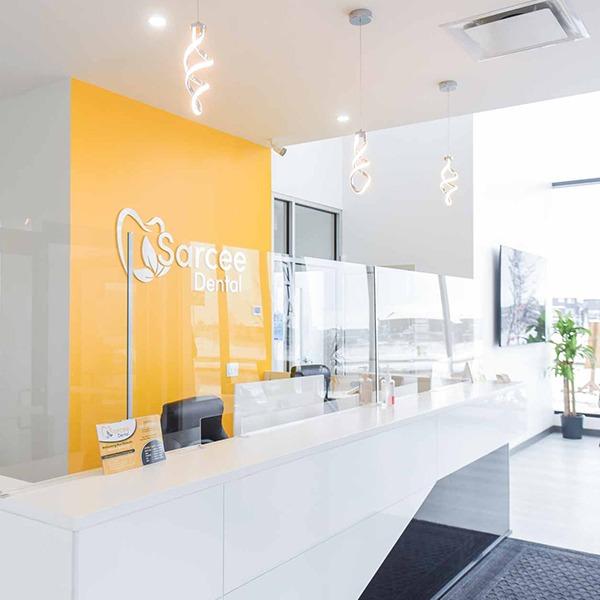 Reception Area   Sarcee Dental   NW Calgary   General and Family Dentist